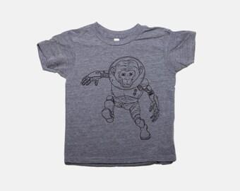 Astronanimal Monkey   Kids Tee