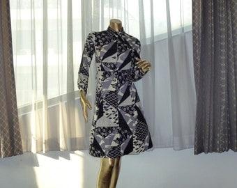 Stunning Hanae Mori Vivid dress, 70's