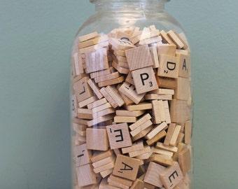 Scrabble Tiles, 100 Tiles