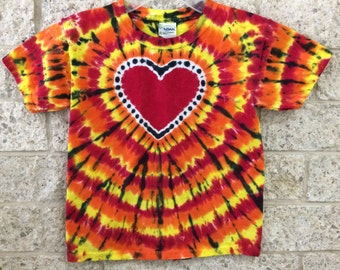 Tie Dye Heart, Child X-Small