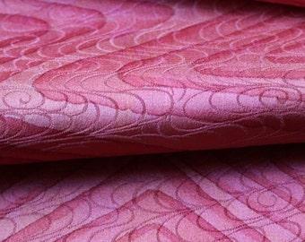 Vintage Kimono Silk, Kimono Fabric, Pink Silk, Japanese Kimono, Pink Fabric