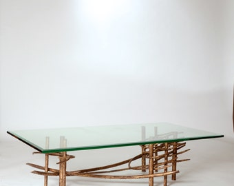 Brutalist Sculpture Coffee Table