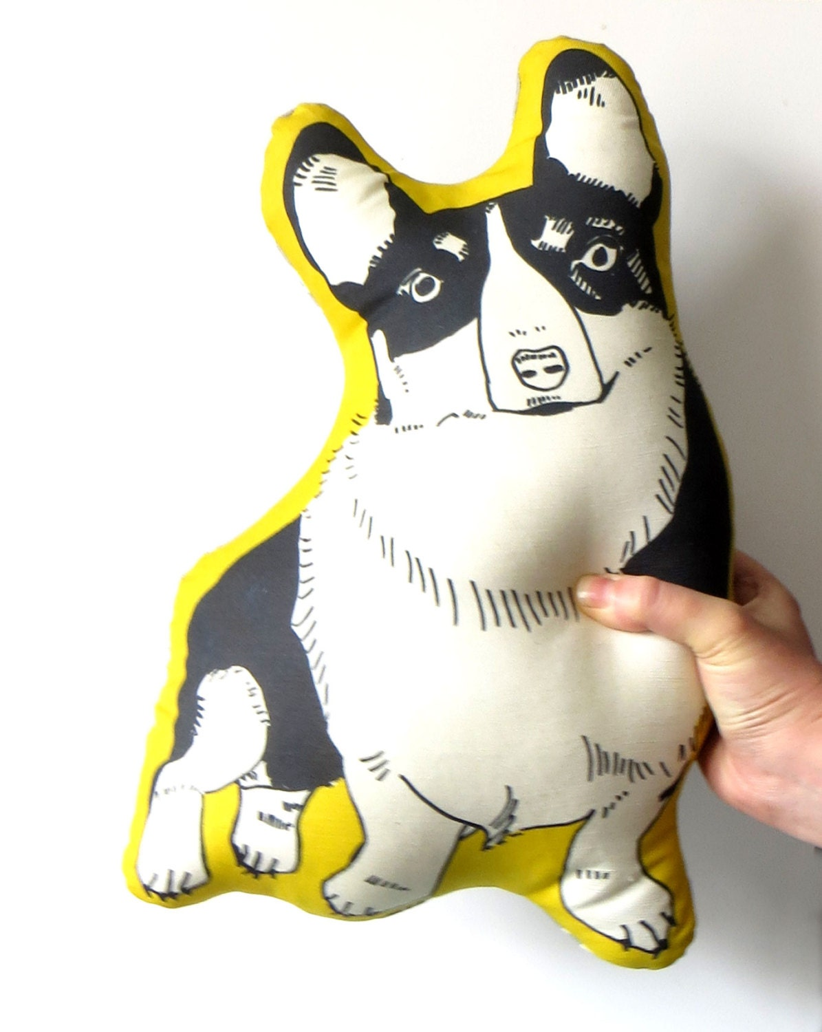 Stuffed Animal Dog Pillow : Corgi pillow stuffed animal for dog lovers by GoodAfternoonan
