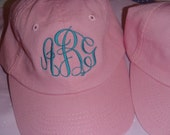 YOUTH soft cotton unstructured twill ball cap    Monogrammed in your choice of font and color