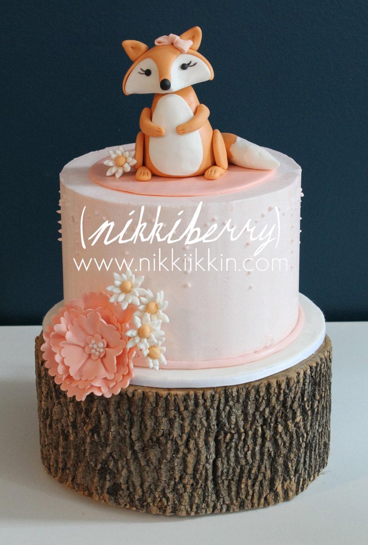 Fox Cake Topper