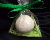 120 Golf Balls 3D Solid Chocolate Nestled in Edible Grass Individual Party Favors