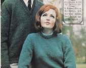 Paton's Classic Series Knitting Pattern No 3 Pullovers (Vintage 1960s)