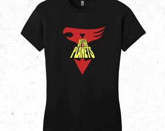Battle of the planets tshirt women's Gatchaman tshirt