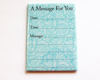 Dry Erase message board, Message magnet, Office Magnet, Fridge magnet, Kitchen magnet, Magnet, ACEO, ATC, A message for you (4435)