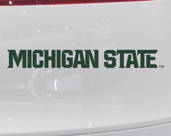New Michigan State Spartan Athletic Logo Vinyl Car Decal Stickers FREE SHIPPING