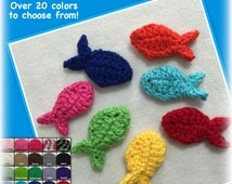 Crocheted fish, Pink, Camo, White, Ivory, Tan, Brown, Grey, Red, Black, Blue, Turquoise, Yellow, Orange, Purple, Green, fish photo prop