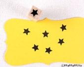 Mini Star Rubber Stamp