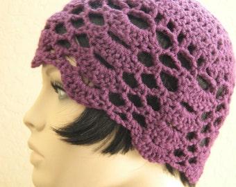 1920s Crochet Cloche Hat, Flapper Hat,Gatsby Hat