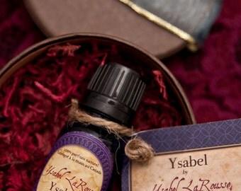 Natural Perfume Oil - YSABEL Medieval Perfume - Ylang Ylang Perfume - SCA Accessories