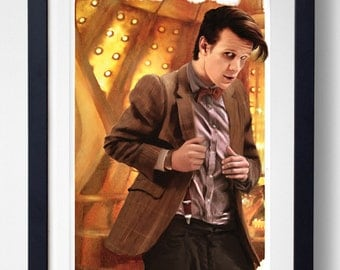 Geronimo - 10th Doctor Who Print
