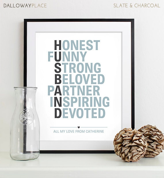 Sentimental Wedding Gift For Husband : valentines for husband anniversary gift for men birthday gift for ...