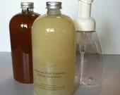 Natural Shampoo and Kombucha Hair Rinse Set 16oz