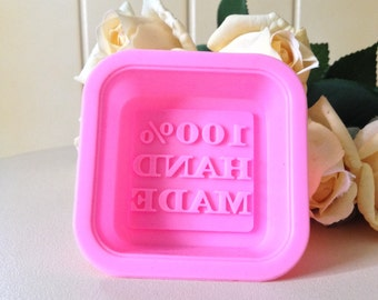 100% Handmade Stamped Soap Mold - FAST SHIPPING