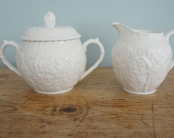 Spode Savoy Cream and Sugar set