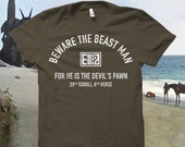 "Planet of the Apes - ""Beware the Beast Man..."" Tshirt"