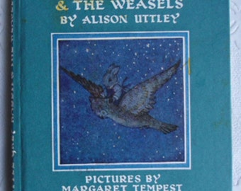 Vintage Childrens Book - Little Grey Rabbit & The Weasels, Alison Uttley, Illustrated by Margaret Tempest, Collins, 11th Printing 1970