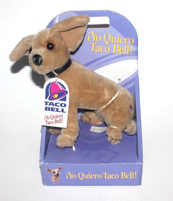 Yo Quiero Taco Bell Dog Toy