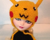 Dark Yellow Character Hat For All Fashion Doll Sizes