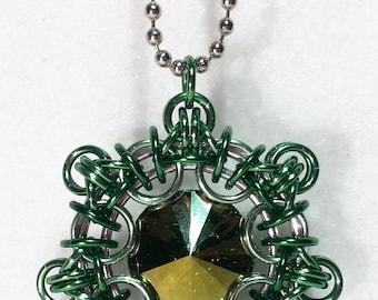 Victorian Snowflake Necklace