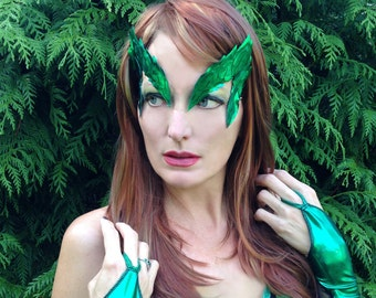 Poison Ivy Mask. Handmade in USA