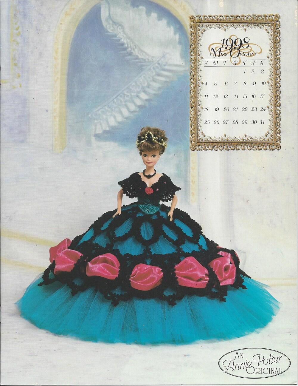The Royal Ballgowns Pattern 1998 Master Crochet Series Miss October