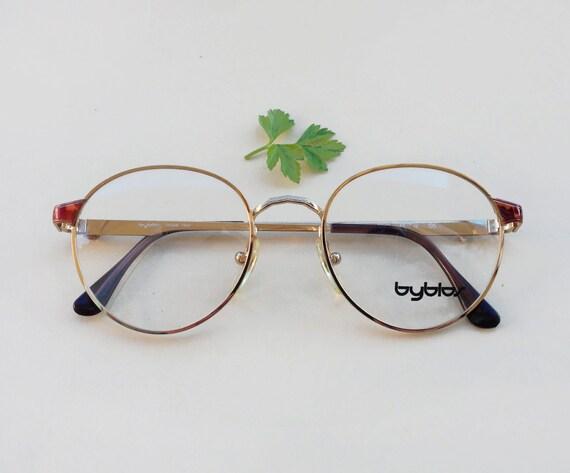 Byblos occhiali vintage anni 80 39 montatura da vista di for Occhiali tondi da vista vintage
