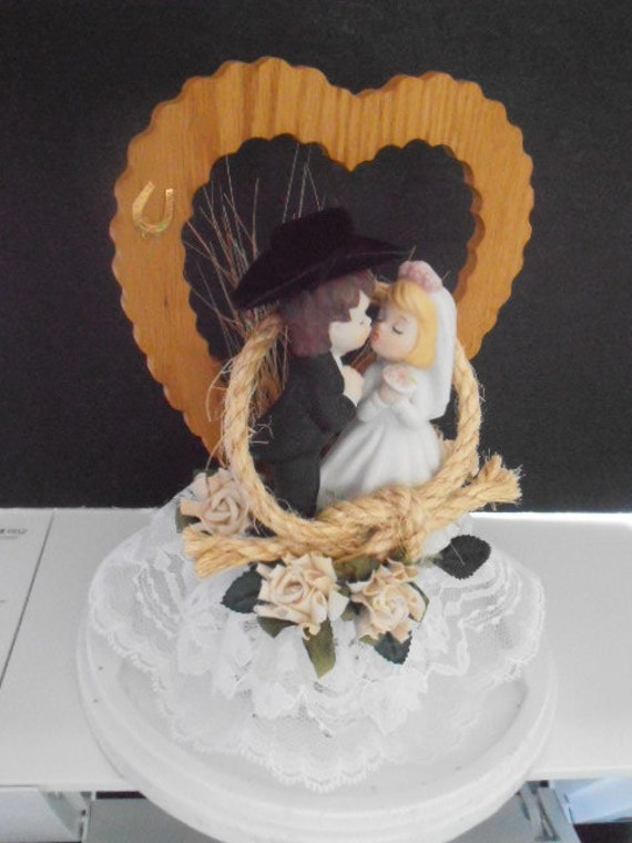 horseshoe wedding cake toppers western wedding cake topper shoe cowboy rope 15319