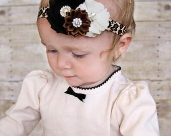 Leopard Headband, Baby Headband, Headband, Leopard Baby Headband, Infant Headband, Newborn Headband, Cheetah Headband, Baby Headband