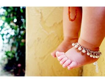 Children Charm Bell Anklet