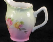 Wheelock Cream Cream Pitcher, Bavaria, Germany Circa 1910 (AB)