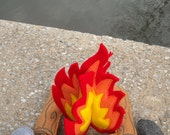 Felt Campfire, Kids Felt Campfire, Camp Fire, Campfire