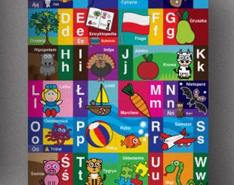 PRINTABLE Polish Alphabet Poster