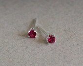 3mm Stud Earrings -  Tiny...