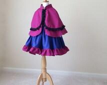 Anna Cape - Anna Frozen Cape - Anna Frozen Dress - Frozen Cape - Anna Cotton Cape - Princess Cape - Cape - Anna Cape - Frozen