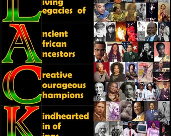 Black is Beautiful.  Black History Collage,  Black History Poster, Black Heroes, Famous Black People Poster, Cultural Artwork