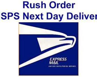 Rush Order - Delivered in 1 to 2 days