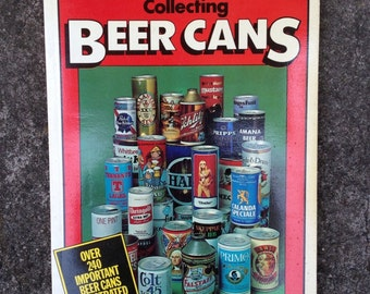 Collecting Beer Cans Richard R. Dolphin Paperback used vintage Breweriana Fathers Day