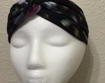 Boho Chic Turban Headband, Twist Turban, Turban Headwrap, Turban Headband, Fashion Accessories for Women, Women's Headband