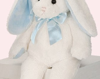 Personalized Bunny for Easter - Plush Bunny with Monogrammed Name in Ear
