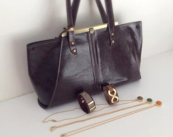 Woman Leather tote bag, woman clutch, tote,satchel, massanger/vintage bag/free shipping/sale