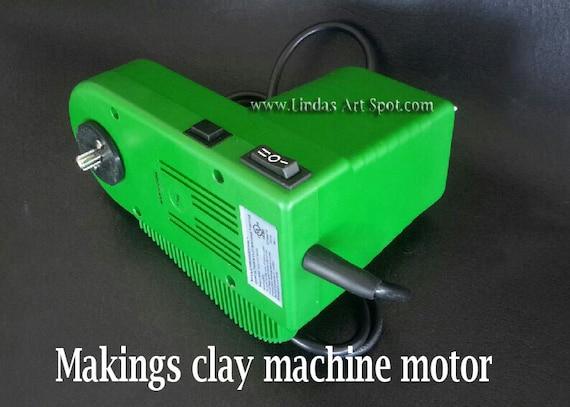 Makin's Ultimate Clay Machine Motor forget hand cranking your pasta machine