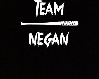 Team Negan T-Shirt For Walking Dead Fans