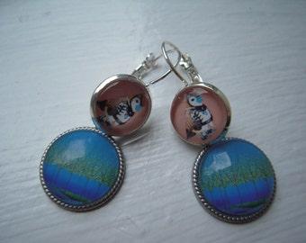 Beautiful birds earrings