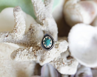 Turquoise Ring, Boho Ring, Boho Rings, Statement Ring, Sterling Silver Ring, Gemstone Rings, Jewelry, Don Biu, Bohemian Rings, Gypsy RIngs