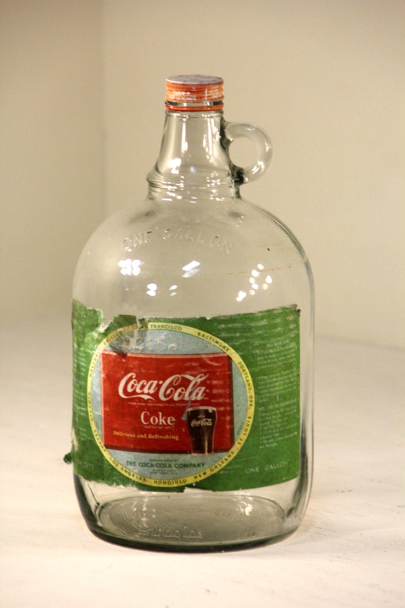 how to clean old coca cola bottles